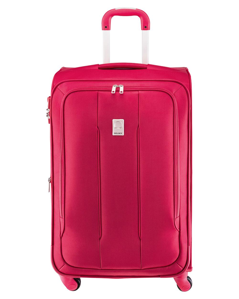 delsey valise pas cher m discrete 4 roues 69 cm rouge 3. Black Bedroom Furniture Sets. Home Design Ideas